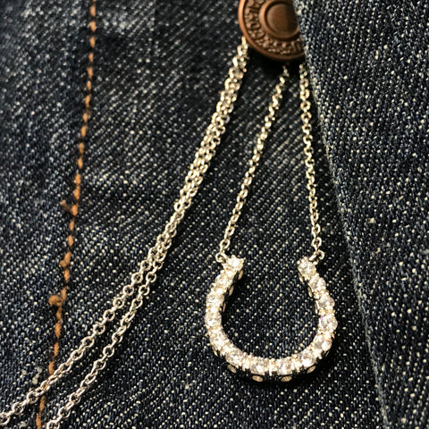 Horse Shoe Necklace - Large