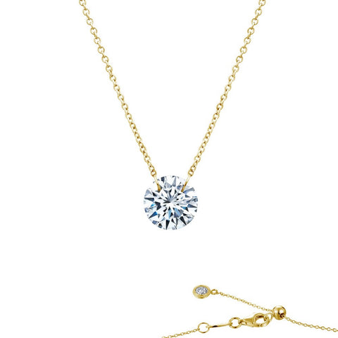 Layering Solitaire necklace