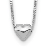 Mini Puff Heart Necklace