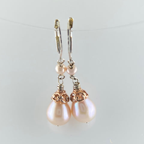 Anna Rose Pearl Earrings