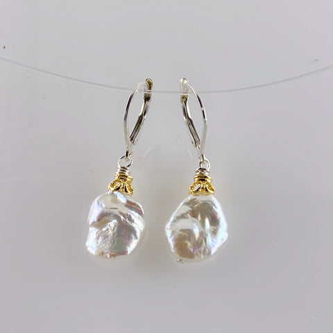 Anna Keshi Pearl Earrings