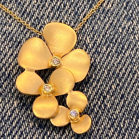 Clover Cluster Necklace