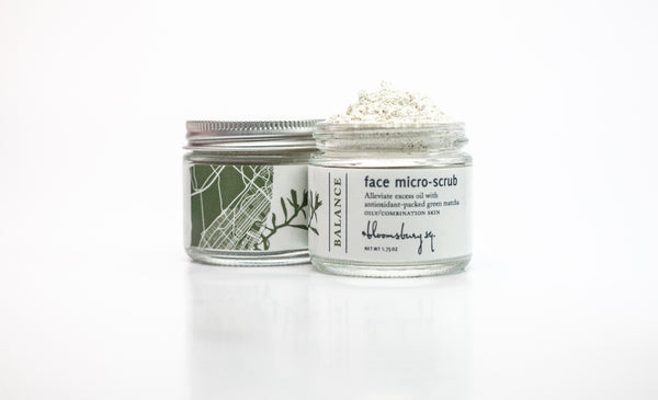 Balance Face Micro-scrub with Clarifying Matcha