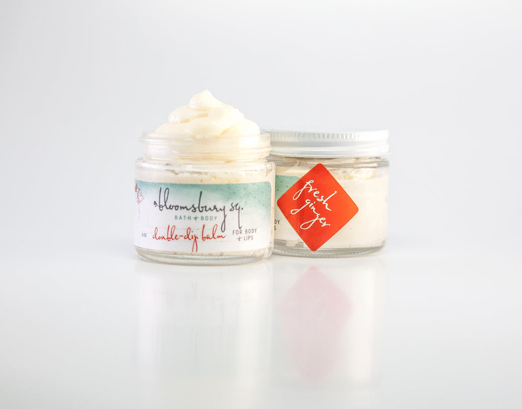 Fresh Ginger Double Dip Balm for Body + Lips