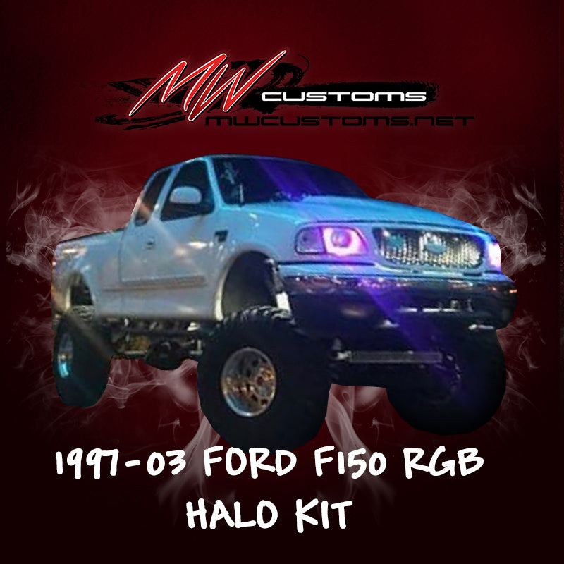 1997-03 FORD F-150 RGB HALO KIT - MwCustoms