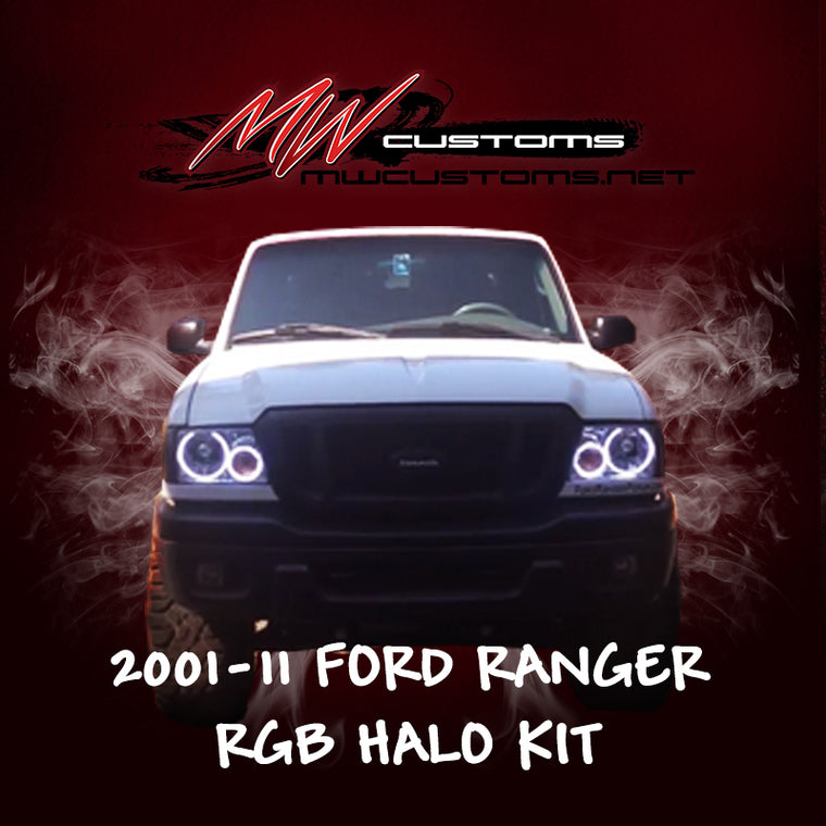 2001-11 FORD RANGER RGB HALO KIT - MwCustoms