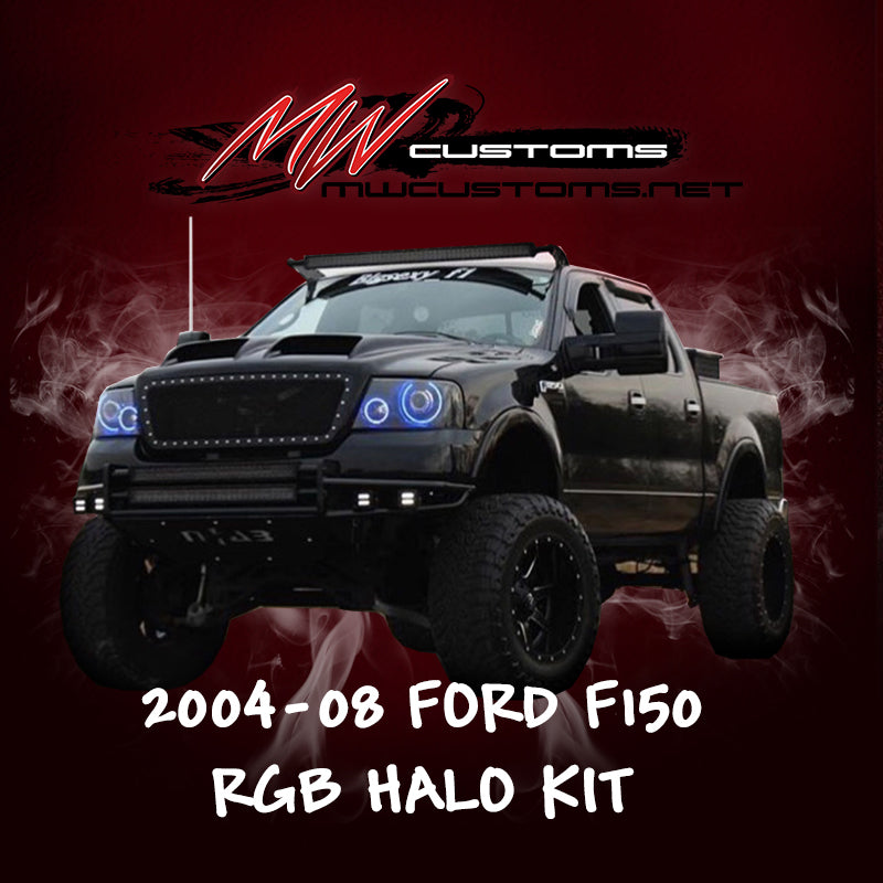 2004-08 FORD F-150 RGB HALO KIT - MwCustoms