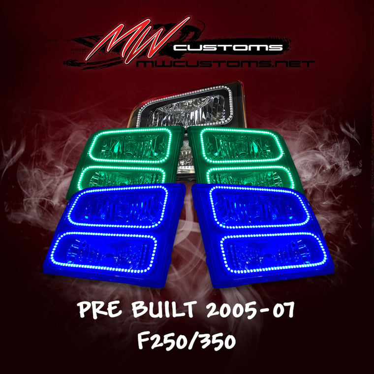 PRE-BUILT 2005-07 FORD F250/350 (will also fit 99-04) - MwCustoms
