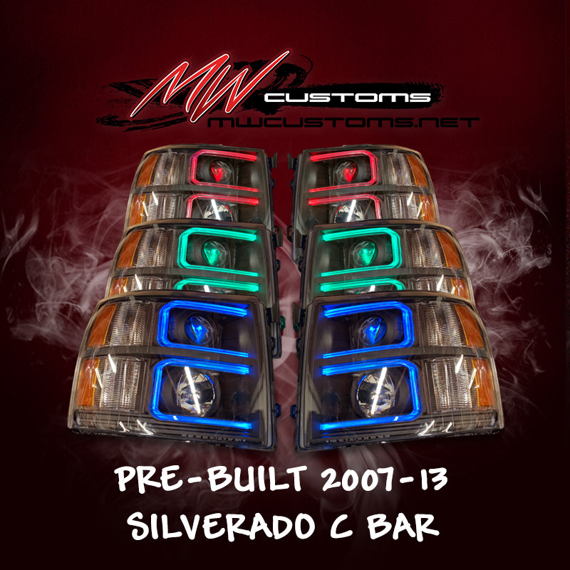 PRE-BUILT 2007-13 CHEVROLET SILVERADO C BAR - MwCustoms