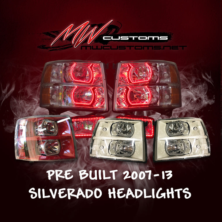 PRE-BUILT 2007-13 CHEVROLET SILVERADO - MwCustoms