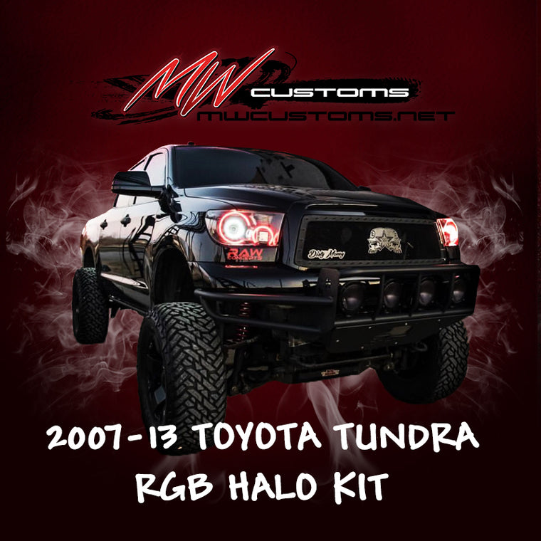 PRE-BUILT 2007-13 TOYOTA TUNDRA HEADLIGHTS - MwCustoms