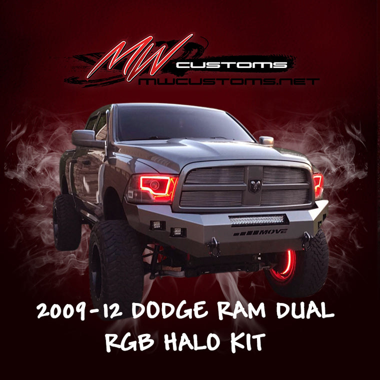 PRE-BUILT 2009-12 DODGE RAM DUAL - MwCustoms