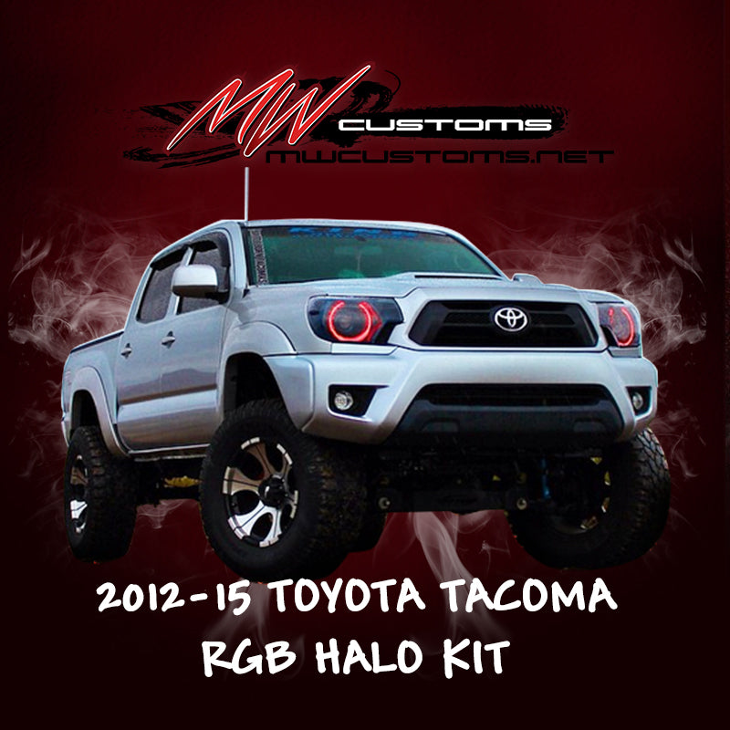 PRE-BUILT 2012-15 TOYOTA TACOMA HEADLIGHTS - MwCustoms