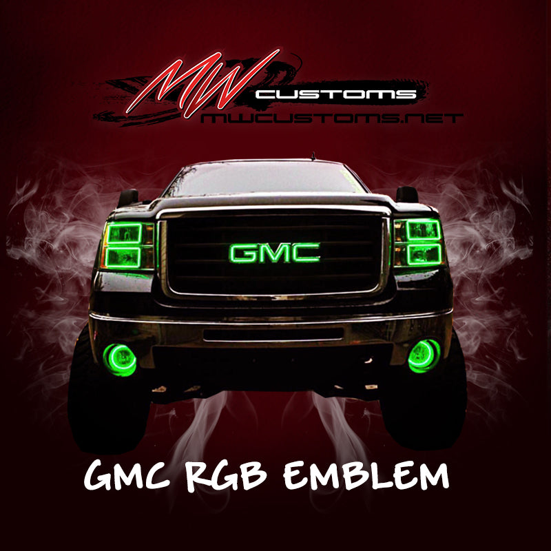 GMC RGB EMBLEM 2007-2018 - MwCustoms