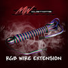 RGB WIRE EXTENSIONS- 8FT - MwCustoms