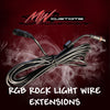 RGB ROCK LIGHT WIRE EXTENSION - MwCustoms