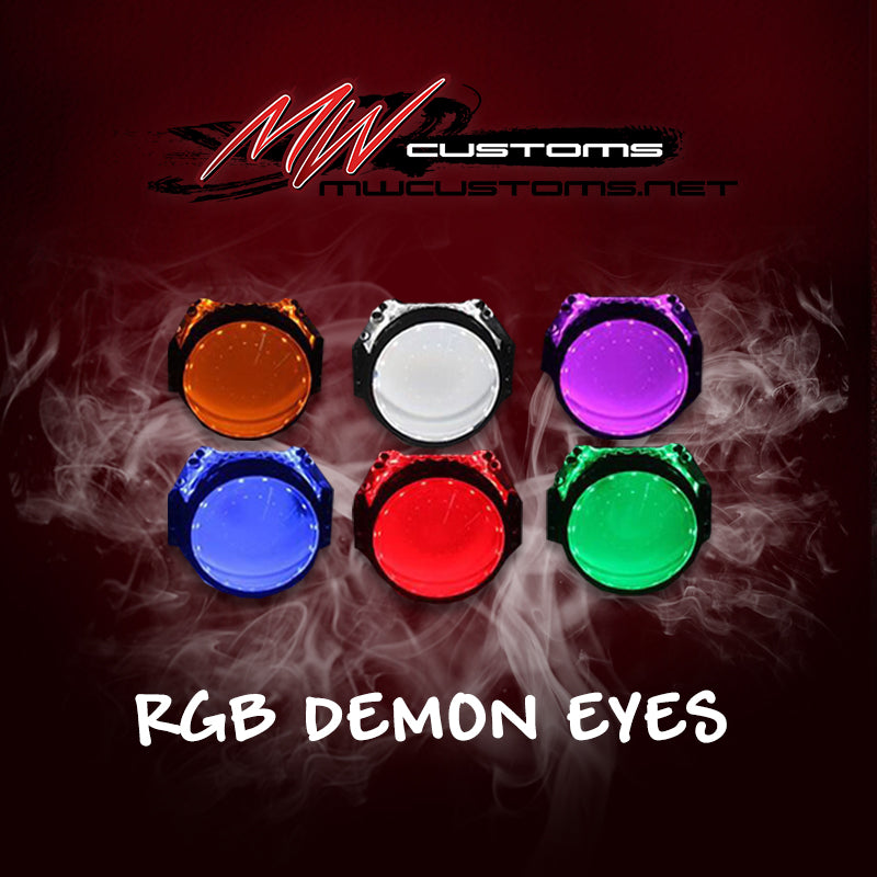 RGB PROJECTOR DEMON EYE KIT - MwCustoms