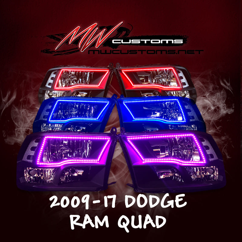 PRE-BUILT 2009-17 DODGE RAM QUAD - MwCustoms