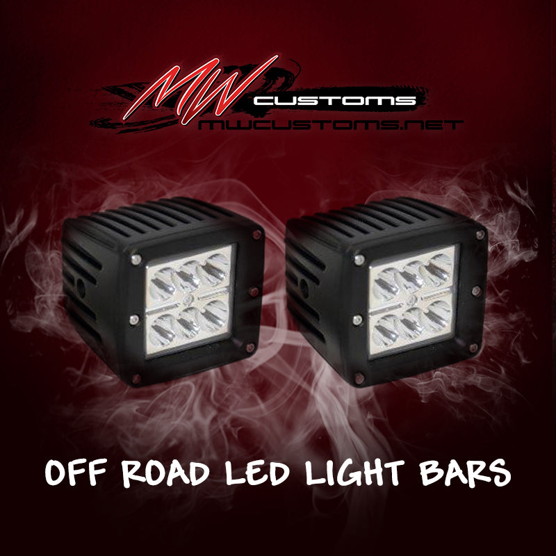 3x3 LED PODS (PAIR) - MwCustoms
