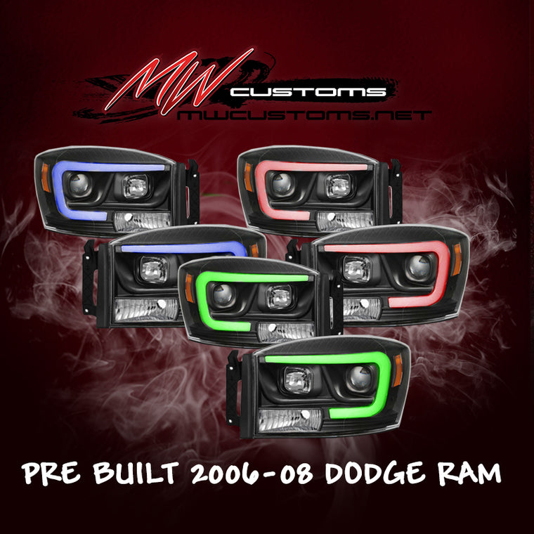 PRE-BUILT 2006-08 DODGE RAM - MwCustoms