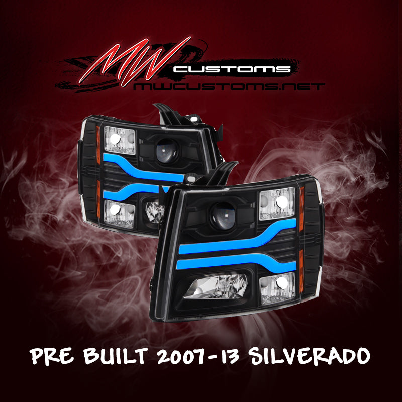 PRE-BUILT 2007-13 SILVERADO 1500/2500 DRL - MwCustoms