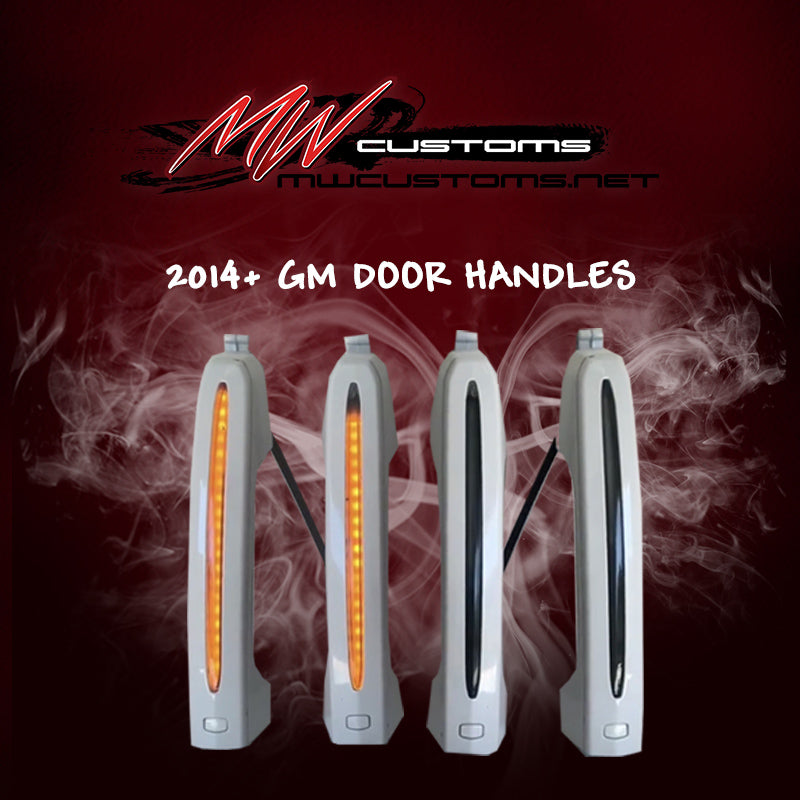 2014+ GM LED DOOR HANDLES - MwCustoms