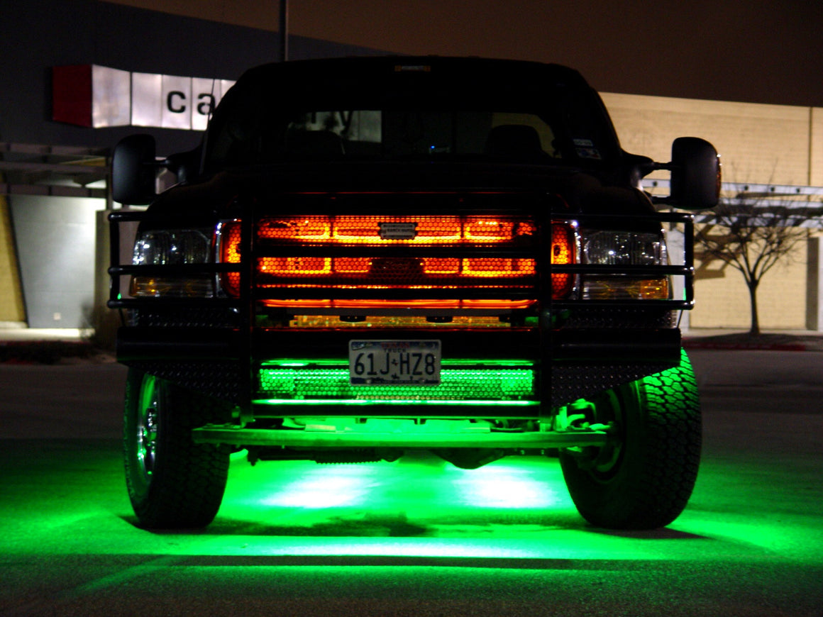 COLOR CHANGING GRILL LIGHTS - MwCustoms