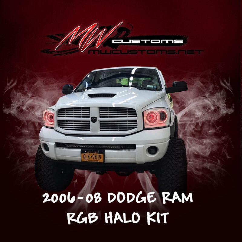 2006-08 DODGE RAM RGB HALO KIT - MwCustoms