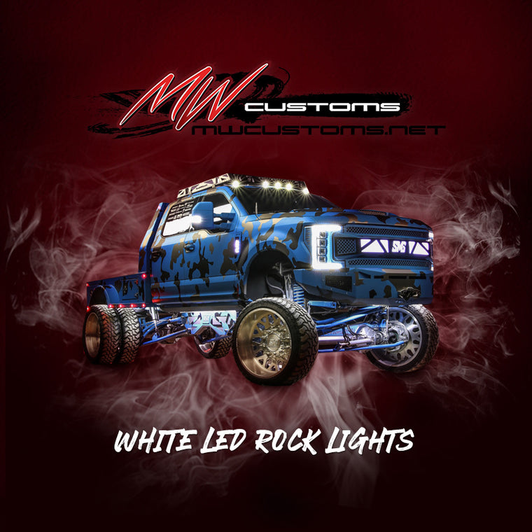 Single Color LED Rock Lights - MwCustoms