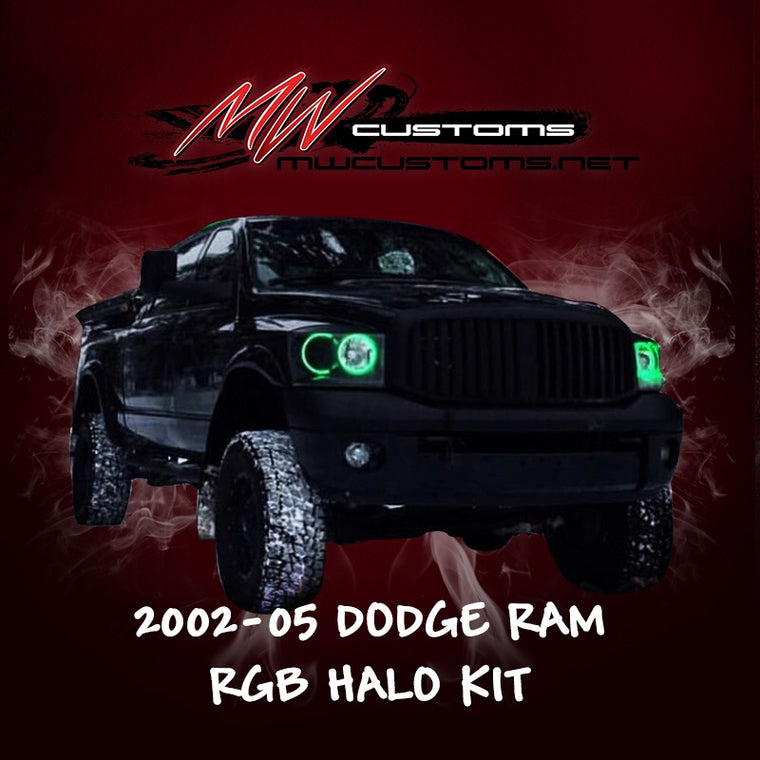 2002-05 DODGE RAM RGB HALO KIT - MwCustoms