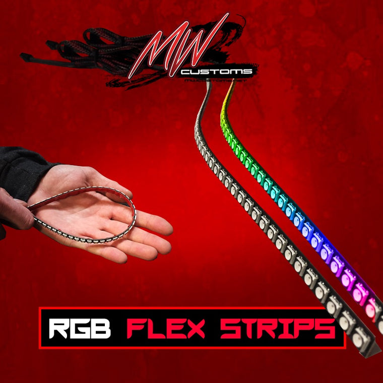 RGB Flex Strips - MwCustoms