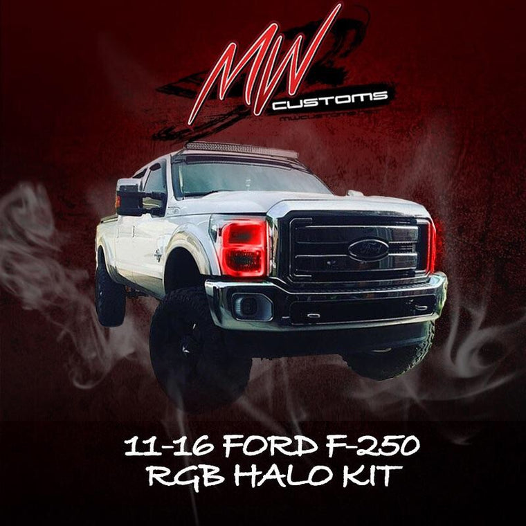 PRE-BUILT 2011-16 FORD F250/350 - MwCustoms