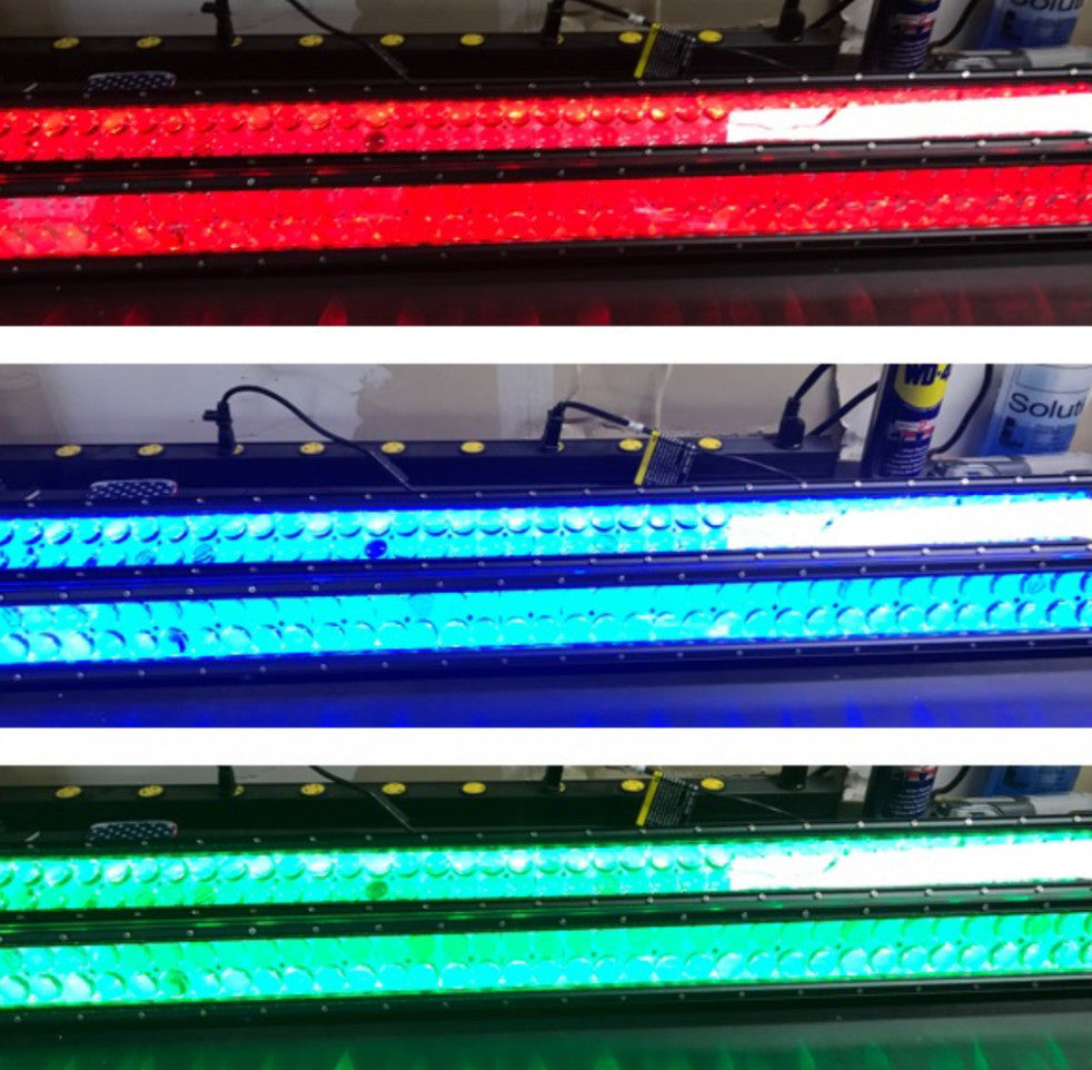 PRE-BUILT RGB BACK LIT CURVED LIGHT BAR - MwCustoms