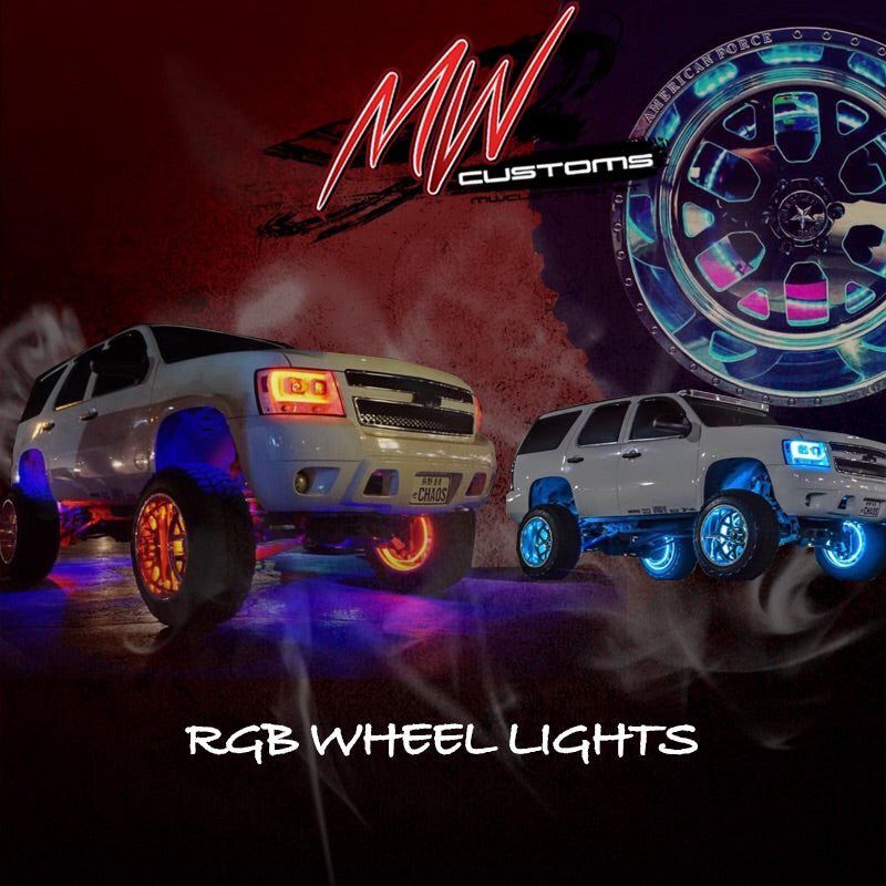 RGB LED WHEEL LIGHTS - MwCustoms