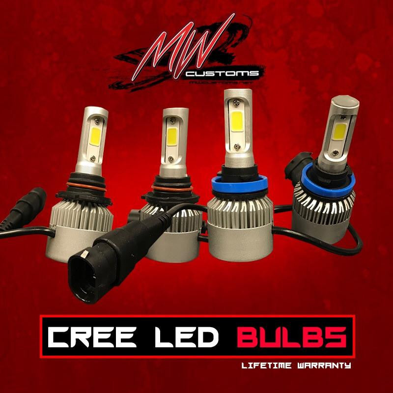CREE LED HEADLIGHT BULBS - MwCustoms