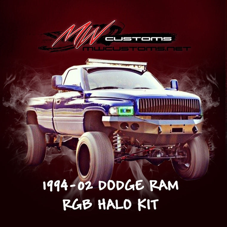 1994-02 DODGE RAM RGB HALO KIT - MwCustoms