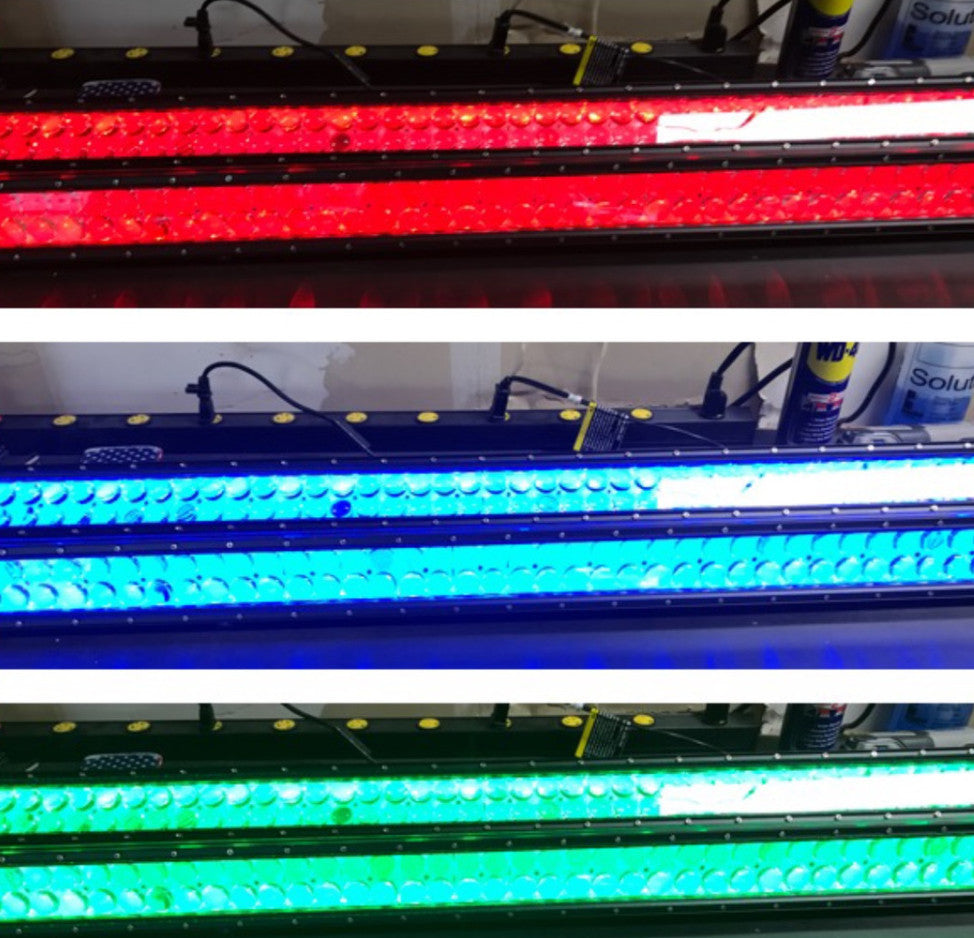 PRE-BUILT RGB BACK LIT STRIAGHT LIGHT BAR - MwCustoms