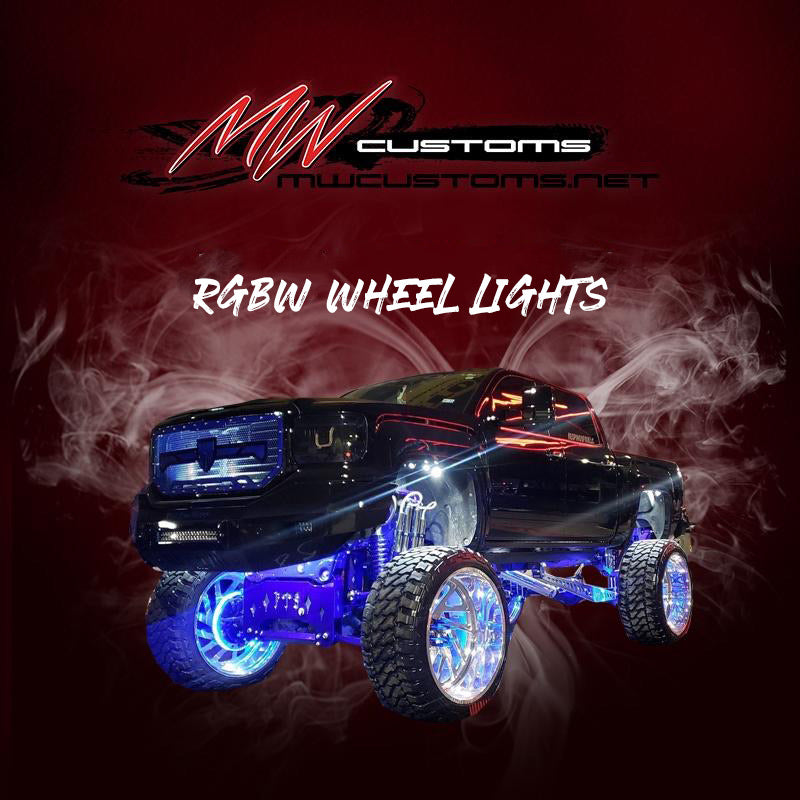 RGBW LED WHEEL LIGHTS - MwCustoms