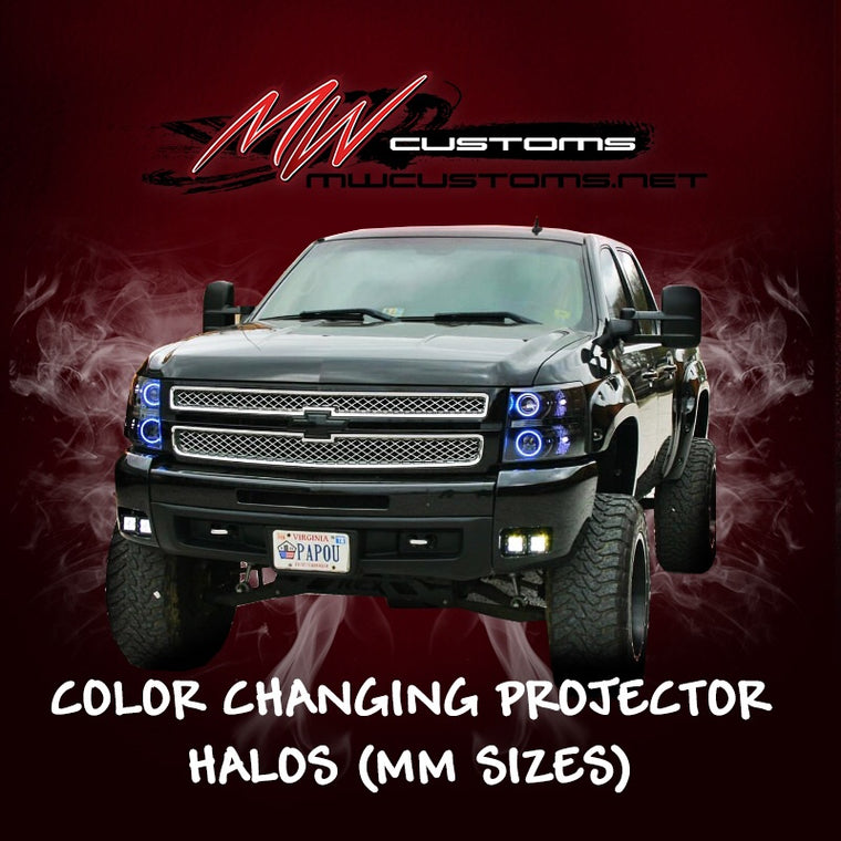 COLOR CHANGING PROJECTOR HALOS - MwCustoms
