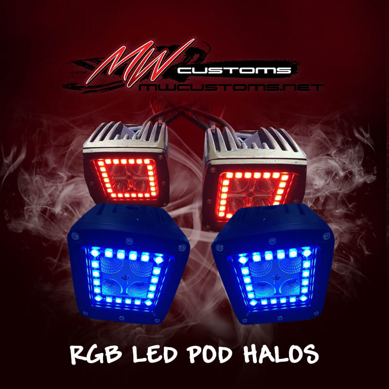 3x3 POD HALOS (PAIR) - MwCustoms