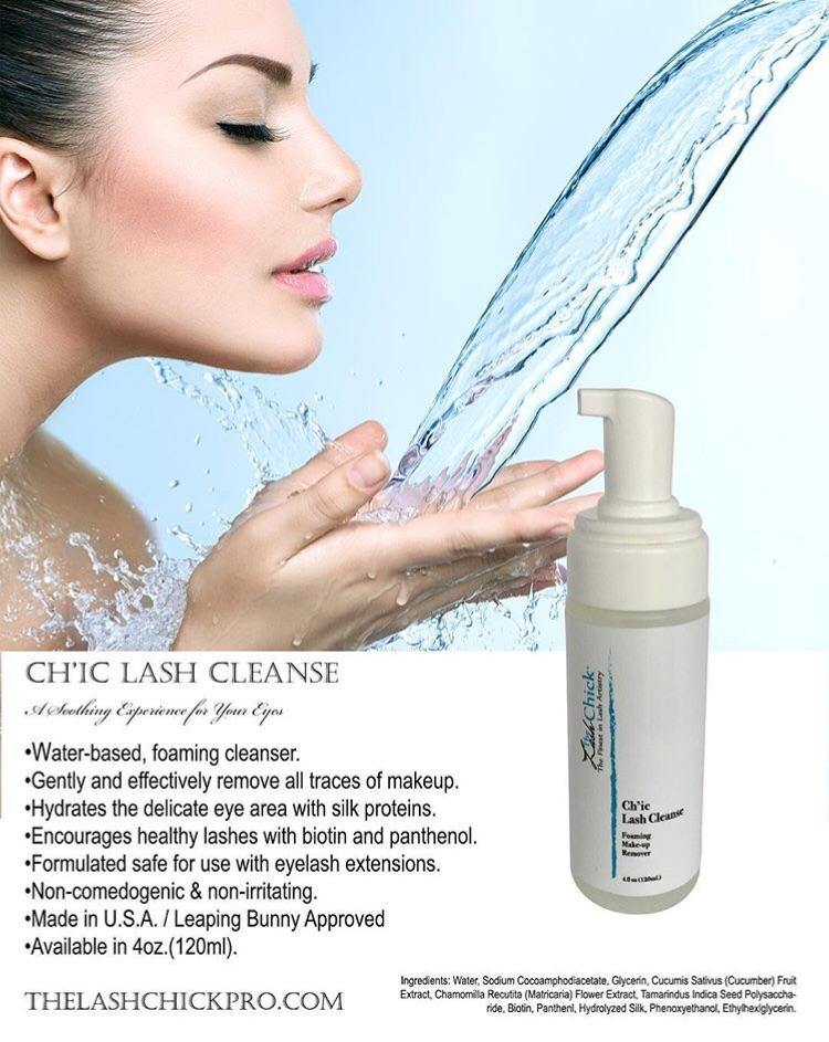 Ch'ic Lash Cleanse - TheLashChickPro