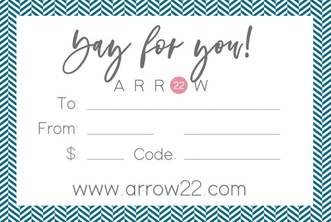 E-Gift Card - Arrow Twenty Two