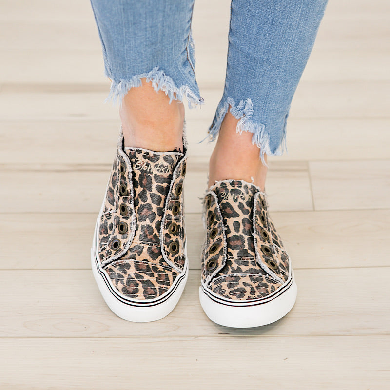 Blowfish Leopard Play Sneaker - Arrow Twenty Two