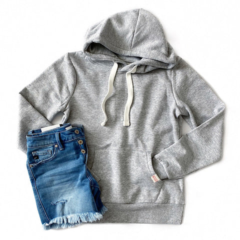 Heather Gray Favorite Hoodie