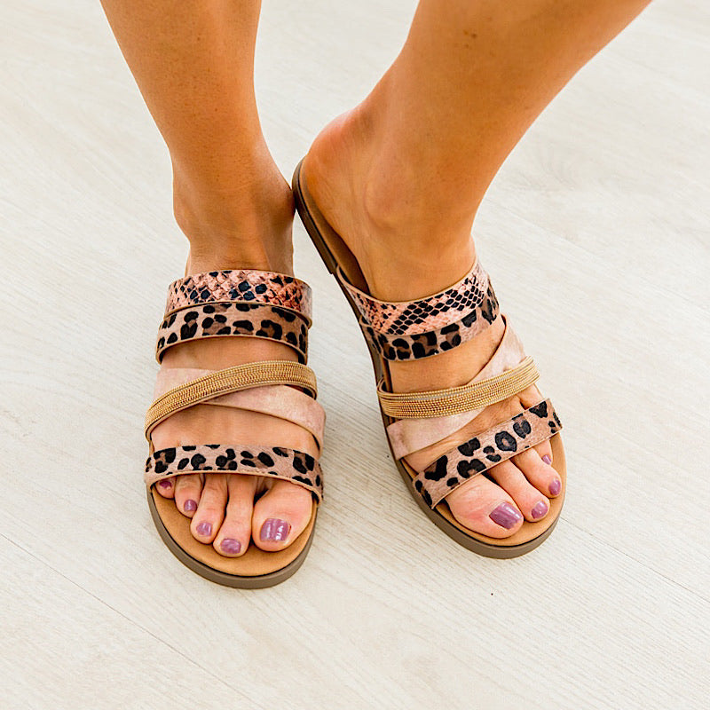 Very G Roya Sandal - Rose Gold - Arrow Twenty Two