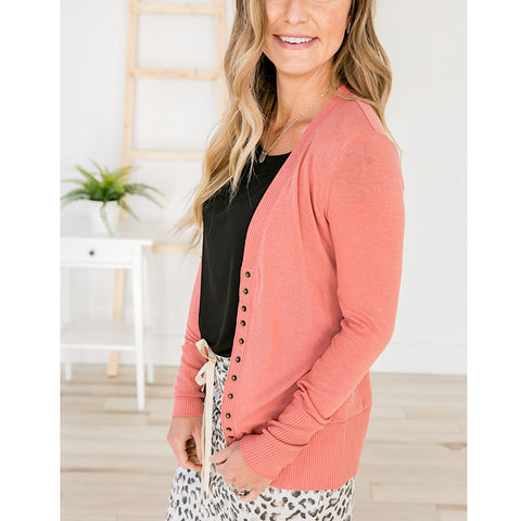 NEW! Rose Snap Cardigan - Arrow Twenty Two