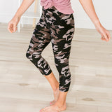 Camo Capri Leggings - Arrow Twenty Two