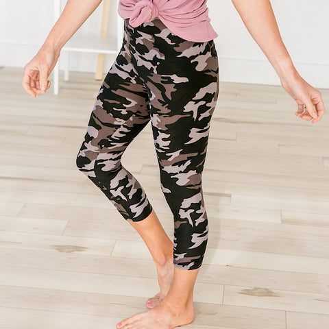 Camo Capri Leggings
