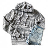 Favorite Gray Camo Hoodie - Arrow Twenty Two