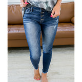 NEW! KanCan Kylee Dark Wash Button Up Jeans - Arrow Twenty Two